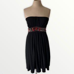 White House black market strapless mini dress